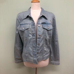 Calvin Klein Jeans   Women's Light Denim Jacket